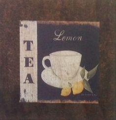 Chá Limão - São produzidas em Mdf Betumizado,cortados levemente irregulares com imagem envelhecida. Acompanha a fita Fixa Forte.  https://www.coisasdelolla.com