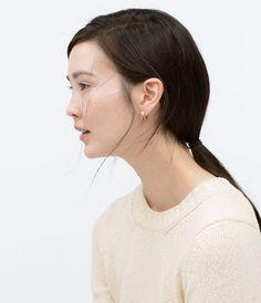 ZARA - WOMAN - PEARL EARRINGS