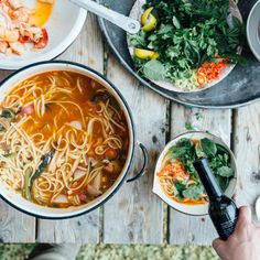 Faux Lobster Pho Lobster Recipes, Seafood Recipes, Soup Recipes, Lobster Dishes, Entree Recipes, Fish Recipes, Dinner Recipes, Cooking Recipes, Broccoli Rabe Recipe