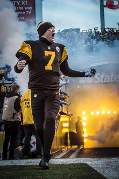 2a2b0f43815 Big Ben Roethlisberger I love the nrw uniforms! Pittsburgh Steelers