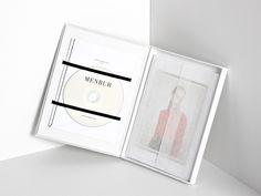 Menbur Press Kit by Play&Type, via Behance Cd Packaging, Packaging Design, Album Design, Book Design, Fashion Invitation, Press Kit, Media Kit, Dvd, Book Projects