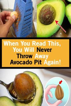 When You Read This, You Will Never Throw Away Avocado Pit Again! Healthy Holistic Living, Healthy Living, Health And Wellness, Health Fitness, Women's Health, Wellness Tips, Health Facts, Health Zone, Health Class