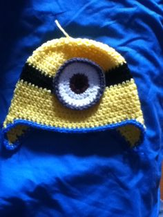 Crochet minion hat pattern by repeat crafter me