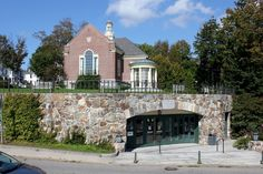 The Camden Public Library.  Did you know this same library appears in the film, Peyton Place?