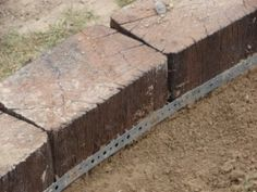 Railway Sleepers - edging