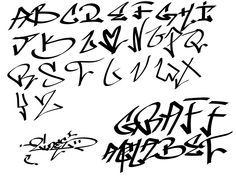 graffiti alphabet - Google Search
