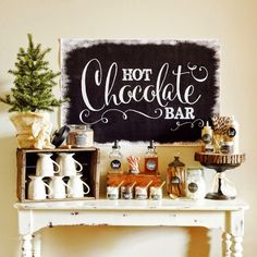 yourfairytaleawaits.com: Hot Chocolate Bar Ideas for your Winter Wedding!