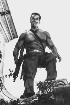 afe10784491 Commando (1985) Arnold Schwarzenegger Arnold Schwarzenegger Movies