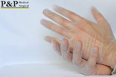 Disposable Vinyl Gloves (Large)