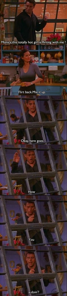 Friends: the best tv show of all time. This Friends tv show quote is so funny. Friends Tv Show, Serie Friends, Friends Episodes, Friends Moments, Friends Forever, Best Friends, Funny Friends, Joey Friends, Friends Cast