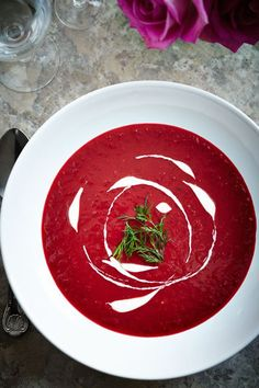 Beetroot Soup | Mowielicious