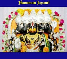 Panchamukha Hanuman Homa is unique as it invokes five forms of Hanuman that represent powerful temples of India. The appearances bestow blessings of leadership skills and can solve severe problems for all. Hanuman Jayanthi, Lord, Halloween, Spooky Halloween