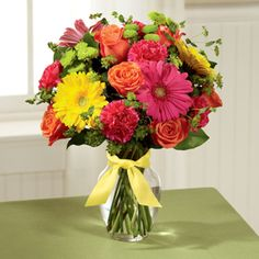 Celebrating life with colorful blooms that inspire and delight,  send The FTD® Bright Days Ahead™ Bouquet  Call 2129218150 Americas Florist NYC