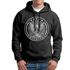 WANG FREEBANDZ Mens Fashion Printed Pullover Hoodie XXL ** Want to know more, click on the image.(This is an Amazon affiliate link)