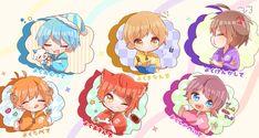 Kawaii Chibi, Anime Chibi, Kawaii Anime, Neko, My Idol, Animation, Manga, Boys, Artist