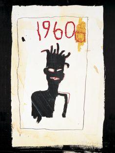 Untitle (1960) Schilderijen van Jean-Michel Basquiat bij AllPosters.nl