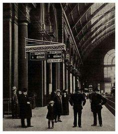 1912. Keleti pályaudvar.