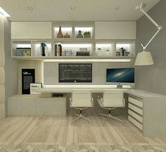 Leading 30 Stunning Home Office Layout - Study Room Home Office Filing Cabinet, Home Office Table, Home Office Layouts, Home Office Setup, Home Office Space, Home Office Design, Home Interior Design, House Design, Interior Shop