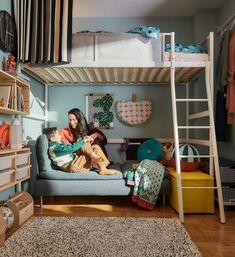Rincón infantil Cute Apartment, Apartment Bedroom Decor, Room Decor Bedroom, Home Bedroom, Bedroom Furniture, Bedroom Signs, Bedroom Rustic, Bedroom Ideas, Ikea Pax