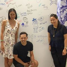 @openingceremony (way) upping the cool factor at Facebook NY HQ today! Thank you Humberto and Carol for your visit by evachen212