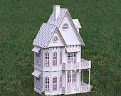 Gingerbread Victorian Doll House
