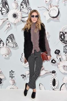 The Olivia Palermo Lookbook : Olivia Palermo at Schiaparelli show in Paris