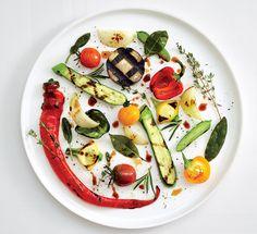 Alain Passard | foto Michael Graydon & Nikole Herriott | Ratatouille aux legumes grilles