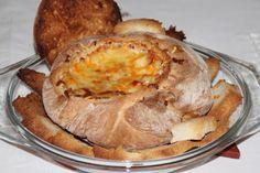 Artes viagens e sabores: Pão recheado ou patê no pão