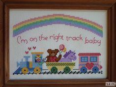 Stitched This Way (Gaga inspired cross stitch pattern)