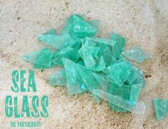 Edible Sea Glass    a little effort in the making but a great sweet result in the end with the bonus of being a wonderful beach party favor
