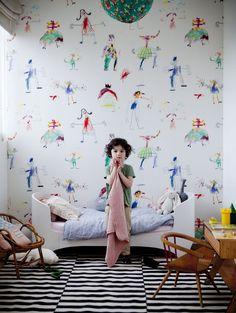 Kids Room Deco | Julie Ansiau // Love it! www.papillon-shop.pl