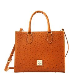 Dooney & Bourke Ostrich Janine, Want this bag, it's called Janine for goodness sake!