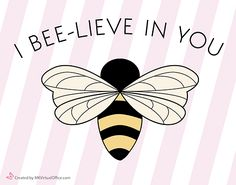 I Bee-Lieve in You-stripes (pack of MK Virtual Office Online Store Honey Favors, Honey Wedding Favors, Honey Sticks, Bee Art, Silhouette Cameo, Packing, Stripes, Crafty, Strong
