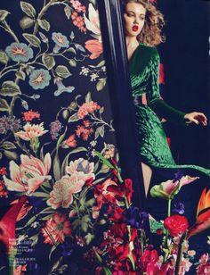Lindsey Wixson for Vogue China September 2012 ♥