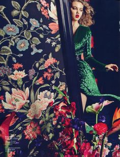 Lindsey Wixson for Vogue China September 2012 ♥