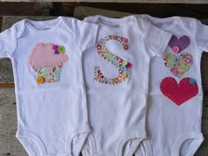 Different DIY onesies                                                       …