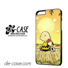 Snopy In Sun Down DEAL-9779 Apple Phonecase Cover For Iphone 6/ 6S Plus