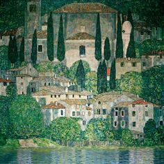 Las+obras+de+arte+Kunstdrucke+von+Gustav+Klimt+bei+KUNSTKOPIE.DE+
