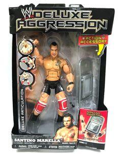 WWE VINYL AGGRESSION EDGE SERIES 4 JAKKS NIB VHTF