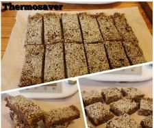 Recipe Raw Chocolate, Almond & Apricot Energy Bars by Thermosaver Jo - Recipe of category Baking - sweet