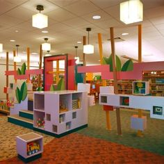 childrens library evanston fabrication installation educational area learning reading fun activities