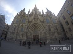 Barcelona's cathedral ©B-Part Barcelona #bpart #bpartbarcelona #gopro #gopro4 #barcelona #photography #cities #city #travel
