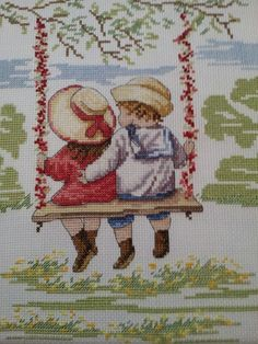 AOY On the Rosebud Singapur ebru sanki Cross Stitch Uk, Cross Stitch For Kids, Beaded Cross Stitch, Cross Stitch Designs, Cross Stitch Embroidery, Hand Embroidery, Cross Stitch Patterns, Embroidery Designs, Canvas Template