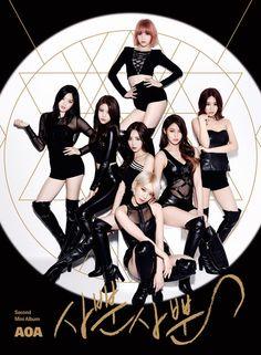 AOA release jacket image for 2nd mini album omg yeesssss