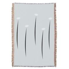 #Chic Abstract Art Floral  Blanket - #personalize #chic