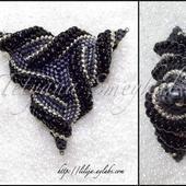 Кулон треугольник из бисера: мастер-класс и схема плетения