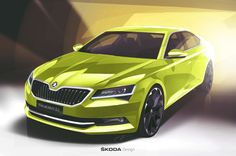 gashetka:   2015 |   Škoda Superb | Exterior Renders by Viktor Filipchenko | Source