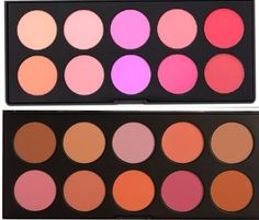 Bh cosmetics blush & bronzer