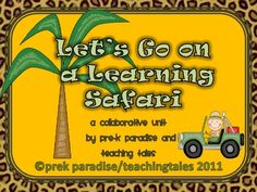 Take your students on a learning safari with this exciting theme unit! They will enjoy the 70 pages of fun that features a printable book, word wor...