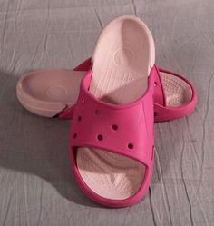 4b80ce6b2d3be Kid s Girl Sandals Crocs Junior Pink Size 2 Medium Rubber  Crocs  Sandals  Crocs Sandals